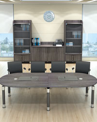 This Boardroom and Storage from Imperial is great in any office