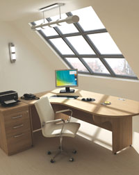 The Sirus Range from Imperial is a stylish addition to any office work space