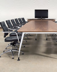 This Verco Boardroom with VIB Seating is a great addition to any office space
