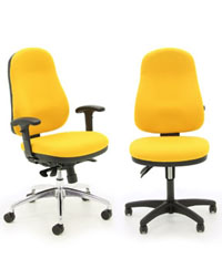This BUZ Seating range from Verco makes great chairs for any office space