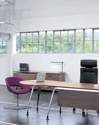 The DNA Suite and Seating from Verco looks great in any office