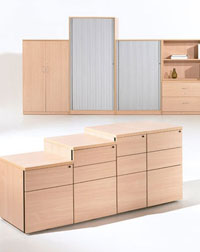 This Verco Universal Storage Unit is perfect to keep your office tidy