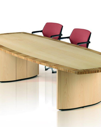 This Eborcraft boardroom table is a stylish addition to any office space