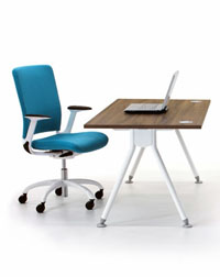 This Visual Acute personal workspace from Verco is a great addition to your office