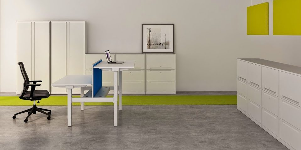 Sit and Stand Desks,  Verco, Imperial Hawk ,Triumph Barretts Huddersfield